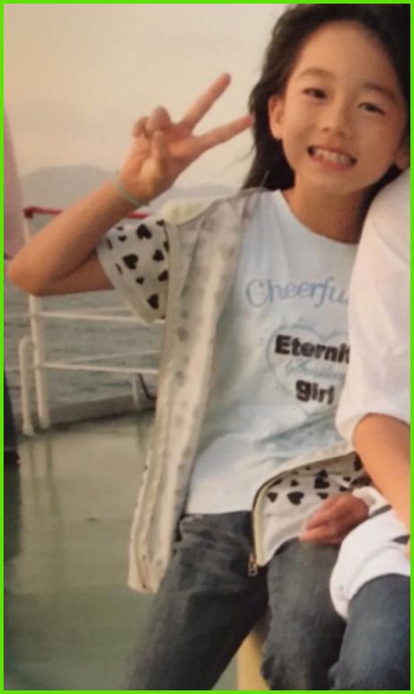 川口葵の昔の写真