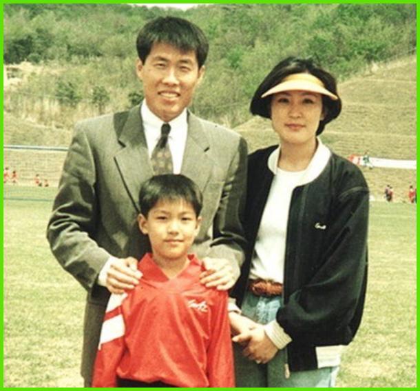 イ・ミンホの家族の写真